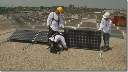 Commercial Roof Repair, Roofing Contractor, Roofer Atlas-Apex Roofing- Solar Panels